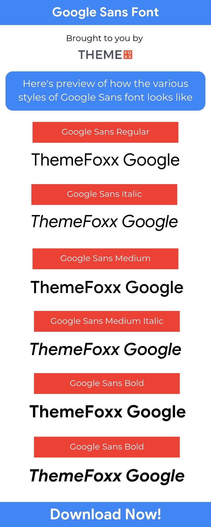 Google-Sans-Font